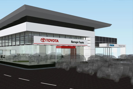 Toyota Narrogin - 3D render